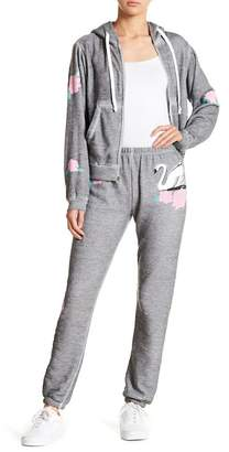 Wildfox Couture Swan & Rose Sweatpants