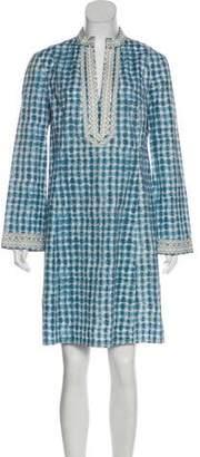 Tory Burch Tie-Dye Knee-Length Dress