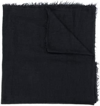 Rick Owens frayed edges scarf