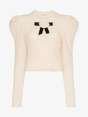 Philosophy di Lorenzo Serafini rose alpaca wool-blend knitted sweater