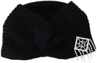 Gucci embellished turban
