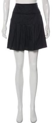 Miu Miu Ruffled Mini Skirt
