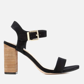 72515eb8f63a Dune Women s Isobel Double Strap Heeled Sandals - Black