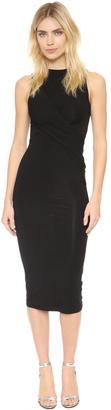 T by Alexander Wang Sleeveless Twist Dress $165 thestylecure.com