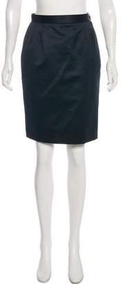 Saint Laurent Straight Knee-Length Skirt