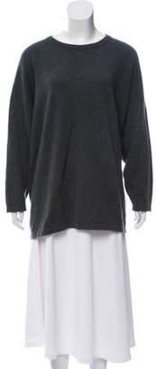eskandar Oversize Cashmere Sweater Blue Oversize Cashmere Sweater
