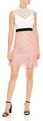 Sandro Gab Floral-Lace Pattern Dress