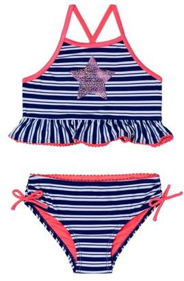 Hula Star Retro StripeTwo-Piece Swimsuit