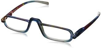 Peepers Unisex-Adult Lagoon 823275 Rectangular Reading Glasses