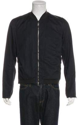 Lanvin Woven Bomber Jacket