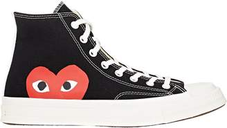 Comme des Garcons Men's Chuck Taylor 1970s High-Top Sneakers