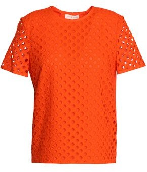 Tory Burch Broderie Anglaise Cotton Top