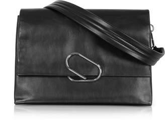 3.1 Phillip Lim Alix Oversized Black Leather Shoulder Bag