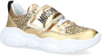 Moschino Leather Logo Sneakers