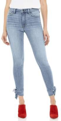Sam Edelman The Stiletto Ankle Tie Jeans
