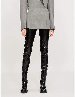 Gareth Pugh High-rise PVC leggings