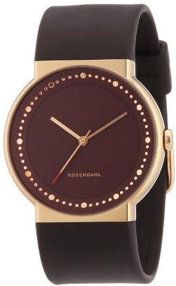 Rosendahl (ローゼンダール) - Rosendahl - 43254 - Montre Femme - Quartz - Analogique - Bracelet Caoutchouc Marron