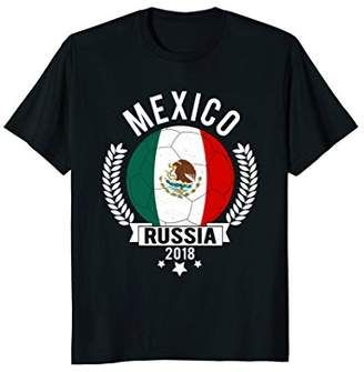 Mexico 2018 Soccer Team Fan Jersey T-Shirt