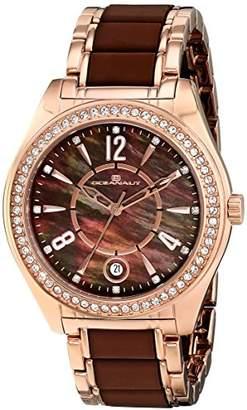 Oceanaut Women's OC5411 Pearl Analog Display Quartz Two Tone Watch