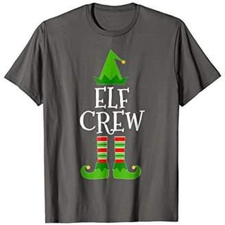 Elf Crew Matching Family Group Christmas T Shirt