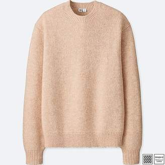Uniqlo Men's U Melange Crew Neck Long-sleeve Sweater