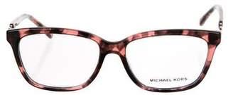 Michael Kors Chain-Link Clear Eyeglasses