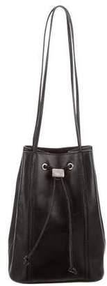 Mark Cross Leather Bucket Bag