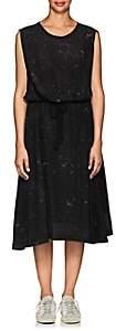 Pas De Calais Women's Silk Georgette Midi-Dress - Black