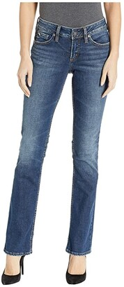 Silver Jeans Co. Suki Slim Boot Jeans in Indigo L93616SDK424