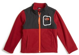 Toddler Boy's The North Face Peril Glacier Microfleece Track Jacket $45 thestylecure.com