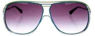 MICHAEL Michael Kors Oversize Gradient Sunglasses