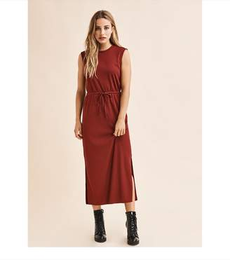 Dynamite Sleeveless Maxi Dress CABERNET