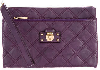 Marc JacobsMarc Jacobs Quilted Leather Wristlet