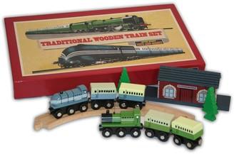 Perisphere & Trylon Traditional Wooden Train Set