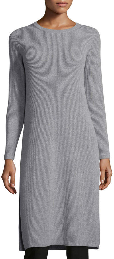 Eileen Fisher CLSSC NMX CASHMERE RIB TUNIC