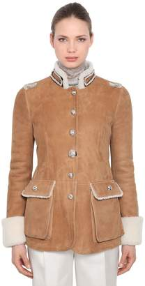 Ermanno Scervino Shearling Jacket