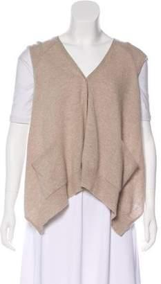 360 Cashmere Cashmere Button-Up Vest