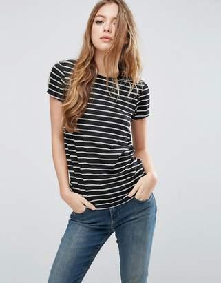 ASOS Stripe Crew Neck T-Shirt $13 thestylecure.com