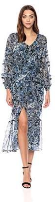 The Kooples Women's Women's Paisley Long Silk Dress
