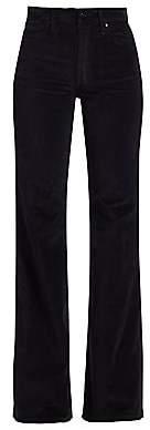 Joe's Jeans Women's Molly High-Rise Flare Velvet Jeans