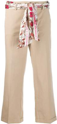 Cambio scarf belt trousers