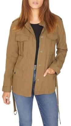 Sanctuary Kinship Surplus Cotton Blend Jacket