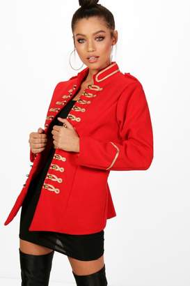 boohoo Military Style Jacket