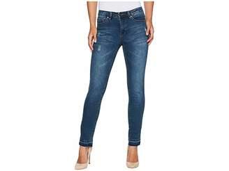 Tribal Five-Pocket 30 Fall Flirt Denim Jeans in Deep Indigo Women's Jeans