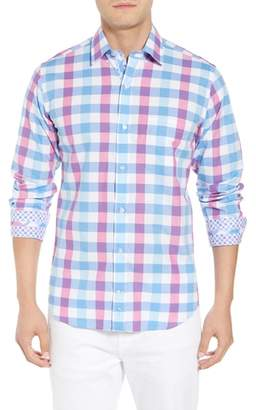 Tailorbyrd Bazel Regular Fit Check Sport Shirt