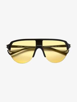 District Vision Black and yellow Nagata sunglasses