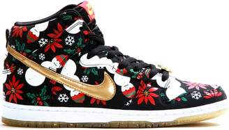 "Nike Dunk SB High Concepts ""Ugly Christmas Sweater"" - Black"