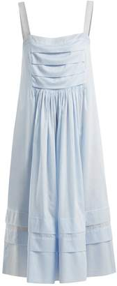 THREE GRACES LONDON Linton sleeveless cotton-voile nightdress