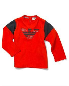 Armani Junior Red Tshirt