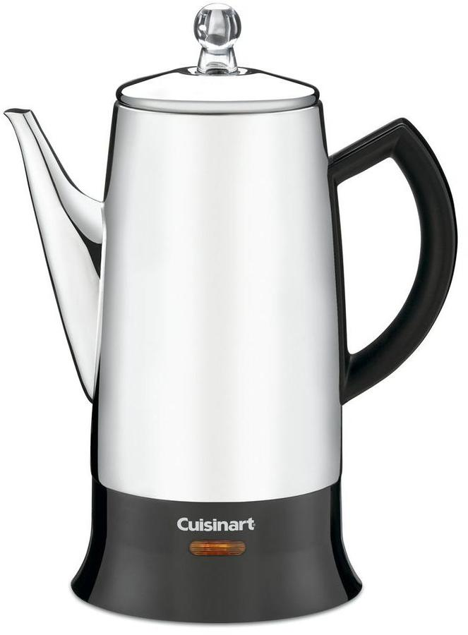 Cuisinart 12-Cup Classic Stainless Percolator